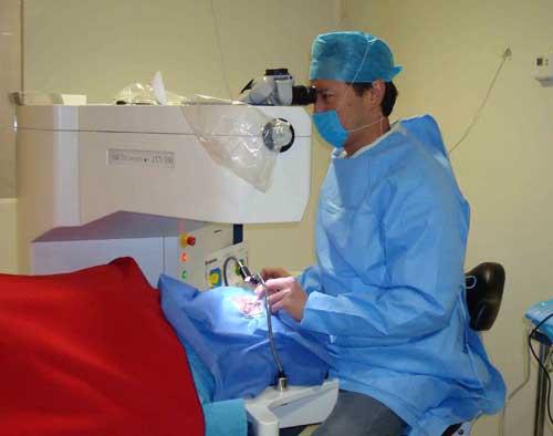 Cirugía láser Lasik