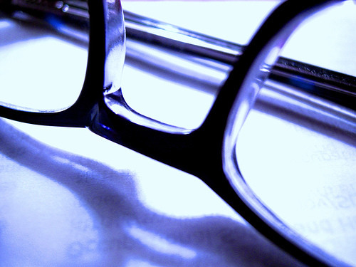 Las gafas de vista estándar y la visión