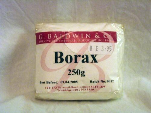 Ingredientes en la elaboración de cremas – Bórax